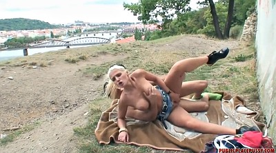 Mature public, Outdoor blowjob, More