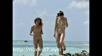 Beach, Nudist teens, Nudist