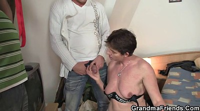 Granny, Old woman, Granny threesome