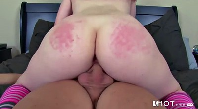 Chubby anal, Spanking ass