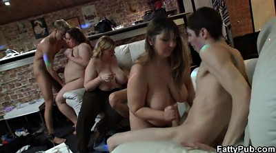 Bbw group, Chubby party