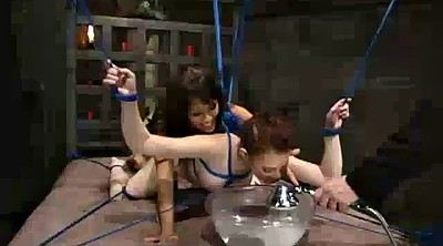 Water, Two, Submission, Bondage strapon