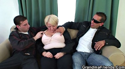 Old and young, Picked up, Old young threesome