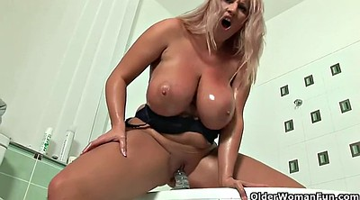 Mature masturbating, Cougar, Transparent, Play, Mature dildo