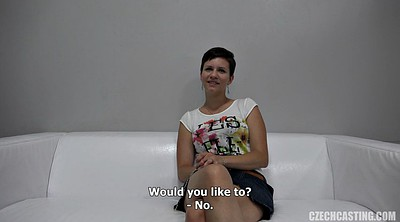 Short haired, Casting mature