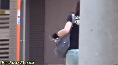 Pissing, Skirt, Japanese pissing, Japanese piss, Dressing, Asian public