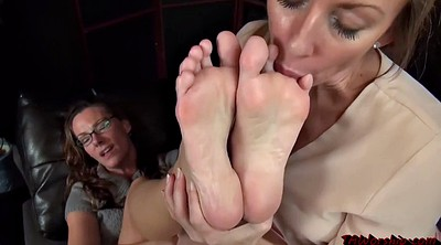 Mature feet, Lesbian feet worship, Foot fetish worship