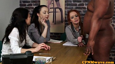 Handjob, Female agents, Tugging, Female agent, Cfnm group
