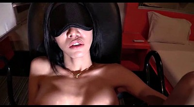 Shemale creampie, Blindfolded