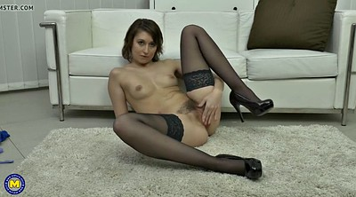Mature, Mature hairy, Hairy milf, Young pussy