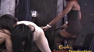Helpless, White girl, Spanking girl