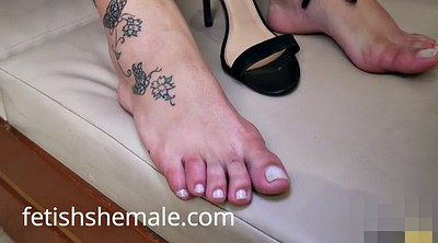 Foot, Feet massage, Foot solo, Shemale solo, Shemale massage, Shemale feet
