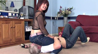 Fight, Jeans, Dominant, Bdsm mature