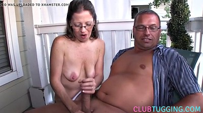 Nipples, Handjob mature