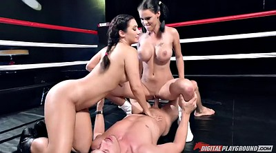 Eva, Two girls, Two girl, Face riding