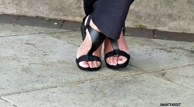 Foot, Candid, Ebony feet, Black foot