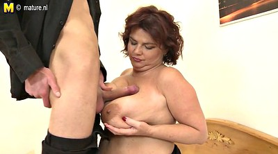 Old young, Breasts, Bbw granny, Mature young