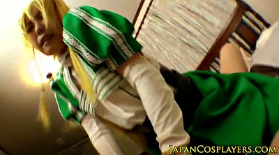 Fingering, Japanese cosplay