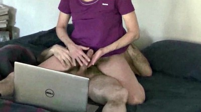 Watching porn, Milf hairy, Husband, Amateur hairy