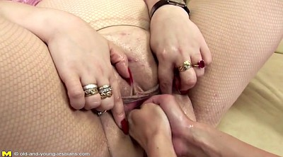 Double fisting, Old lesbian, Mature young lesbian, Mature and young lesbians, Granny fisting, Double fist