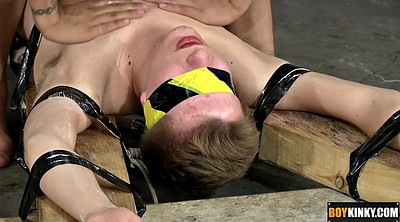 Blindfolded, Tied up