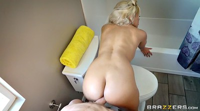 Star, Moms, Bathroom, Luna star, Mom ass, Mom shower