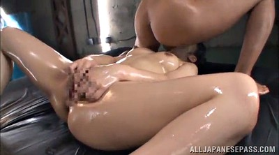 Bukkake, Doggy, Asian bukkake, Oil handjob, Asian handjob