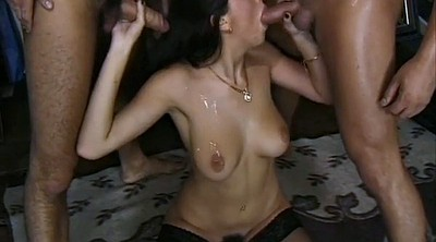 Double, Vintage anal, Threesome anal