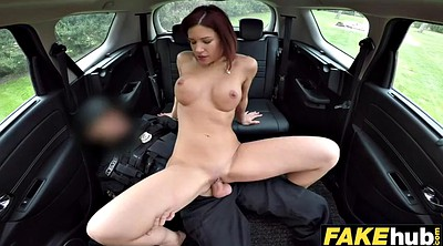 Redhead, Fake cop, Twice cum, Fake cops, Cum twice