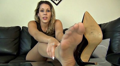 Nylon foot, Feet joi, Foot nylon