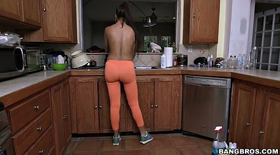Gloves, Solo milf, Kitchen, Glove