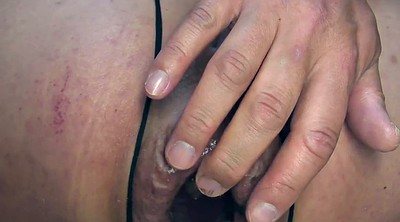 Tied, Gaping pussy
