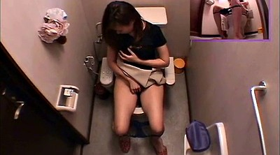Japanese voyeur, Bathroom masturbation