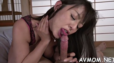 Japanese mature, Japanese blowjob, Ball, Japanese slut, Japanese deepthroat