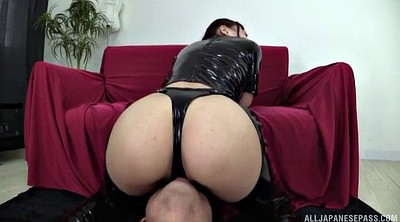 Japanese ass, Rimjob, Japanese big ass, Asian latex, Latex handjob, Asian handjob