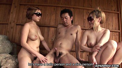 Tits, Erection, Japanese handjob