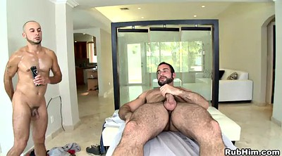 Oil massage, Gay hunk