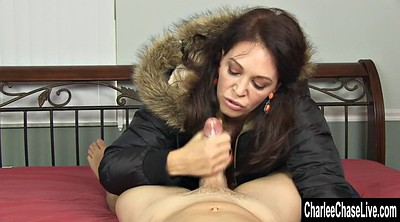 Busty, Coat, Tits sucking, Charlee chase