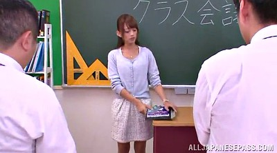 Asian teacher, Asian gangbang