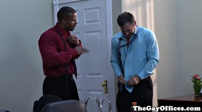 Black muscle, Ebony muscle, Gape, Office black, Gay office