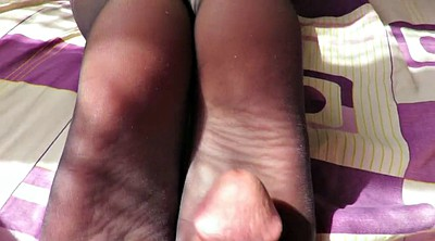 Stocking foot, Stocking footjob, Stockings footjob, Stocking feet, Blue stockings, Stockings foot