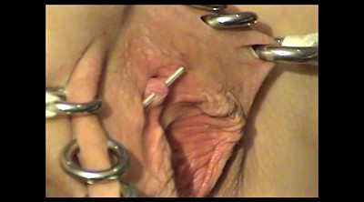 Ring, Big clit, Piercing ring, Piercing clit