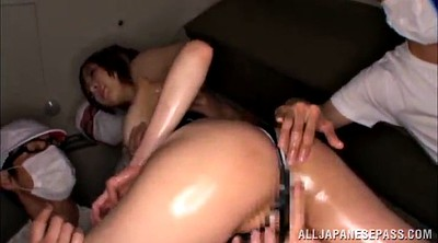 Gangbang, Asian gangbang, Long hair, Asian group