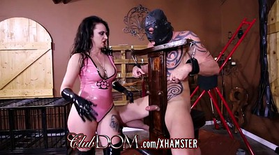 Gloves, Glove, Milked, Femdom milking, Ball, Latex gloves
