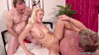 Old couple, First, Couple, Threesome casting