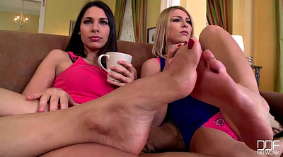Brandi, Lesbian foot, Zafira, Threesomes, Feet fetish