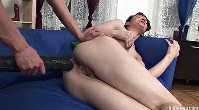 Gaping, Anal sex, Russian strapon, Tear