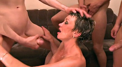 Mom anal, Mom gangbang, Mom group