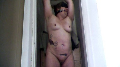 Mature, White, Blindfold, Fat white, Mature bdsm, Bitch