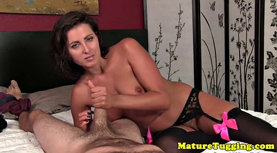 Dirty talk, Handjob mature